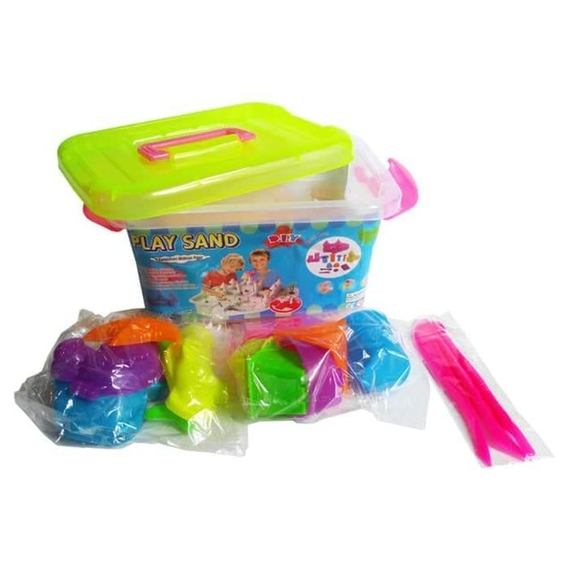 Play Sand Kinetic Sand Container 1000gr 1