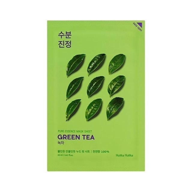 Holika Holika Pure Essence Mask Sheet - Green Tea 1
