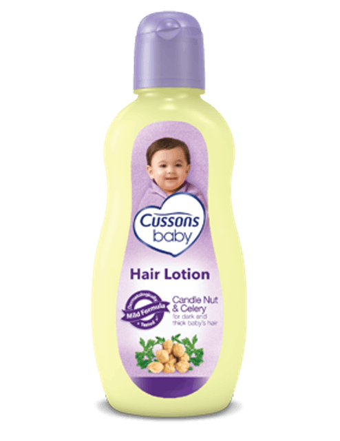 PZ Cussons Cussons Baby Hair Lotion Candle Nut & Celery 1