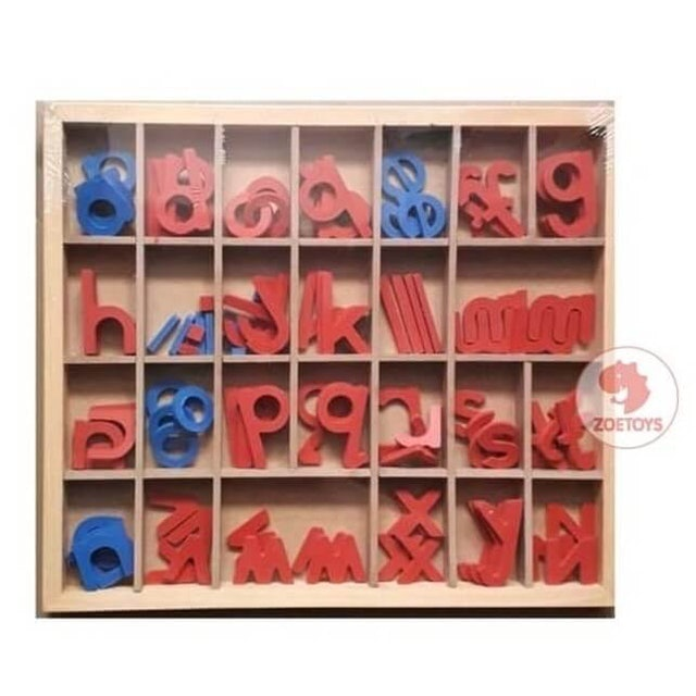 Zoetoys  Moveable Alphabet (with Box) 4 Sets  1