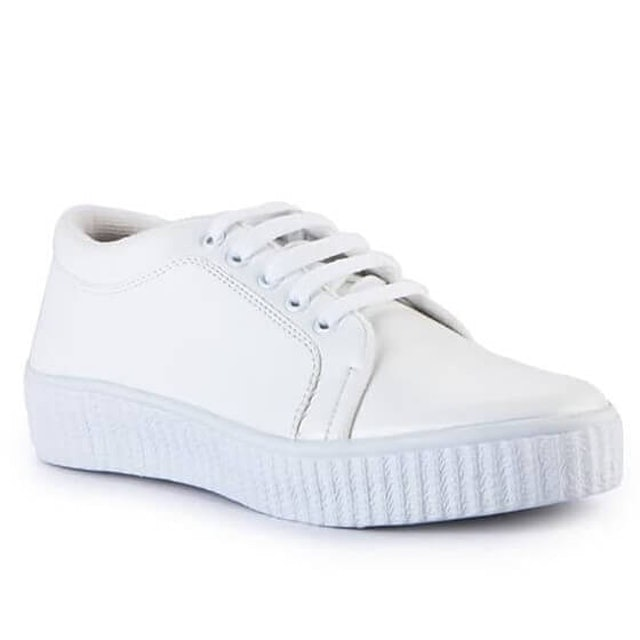 Totally  Sneakers Simple White 1