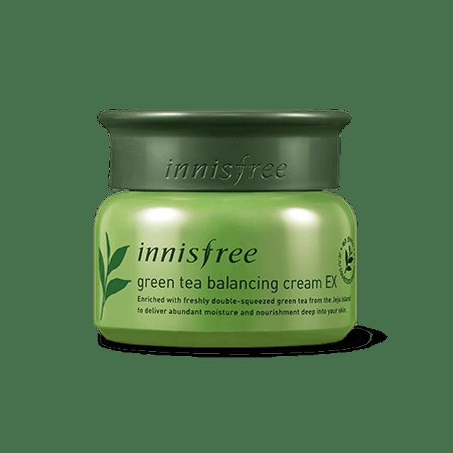 Innisfree Green tea balancing cream EX 1