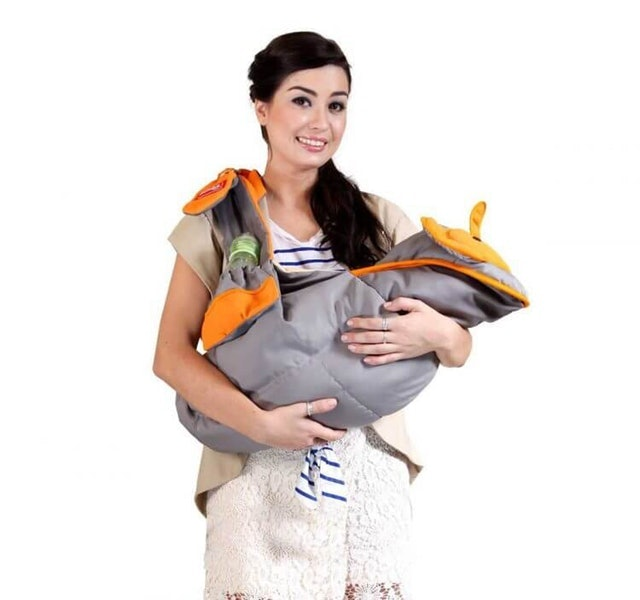Dialogue Baby  Gendongan Bayi Samping Saku + Celemek Menyusui Cute Series DGG-4127 1