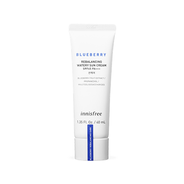 Innisfree Blueberry Rebalancing Watery Sun Cream SPF45 PA+++ 1