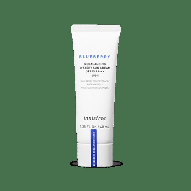Innisfree Blueberry Rebalancing Watery Sun Cream SPF45 PA+++ 1