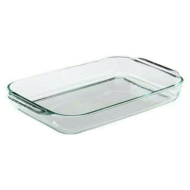 Pyrex  Rectangular Tempered Glass Bakeware 1