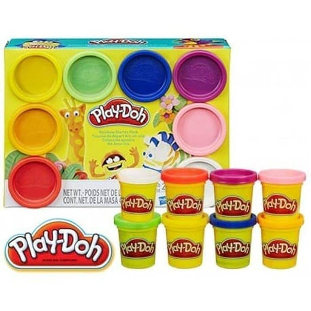 Hasbro  Play-Doh Rainbow Starter Pack 1