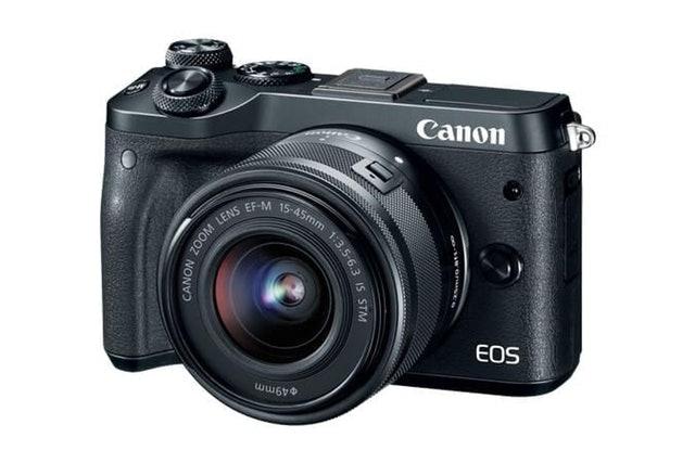 Canon  EOS M6 EF-M 15-45mm IS STM Kit Black 1