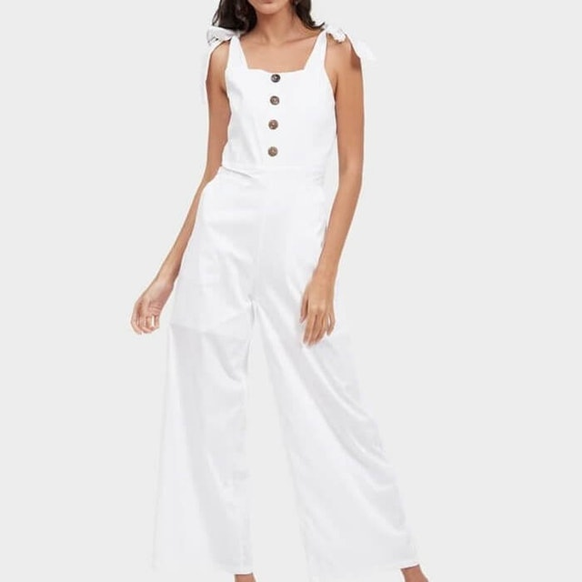 Just  Cano Bow Jumpsuit 1