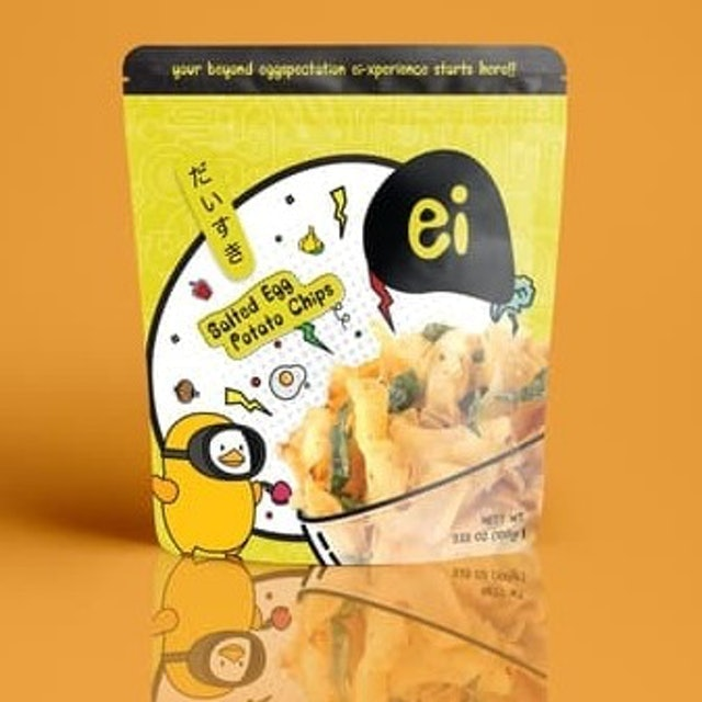Ei  Salted Egg Potato Chips 1
