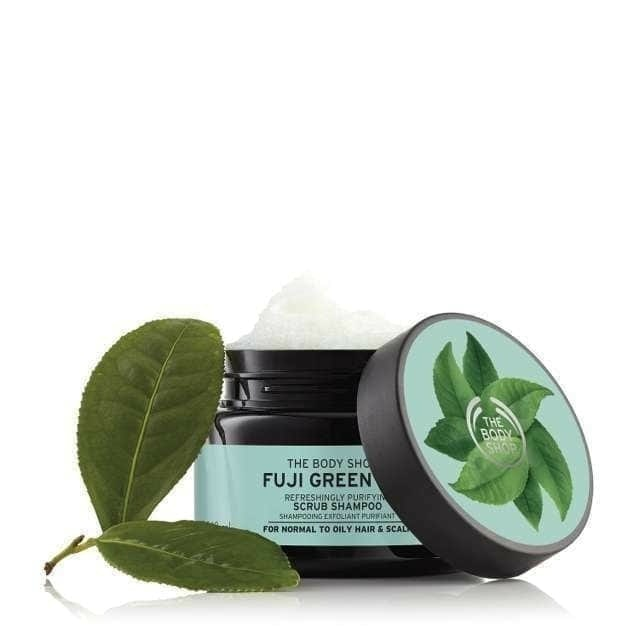 The Body Shop Fuji Green Tea Refreshingly Purifying Hair Scrub 1