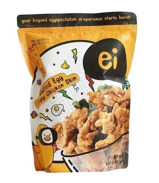 Ei Salted Egg Crispy Chicken Skin 1