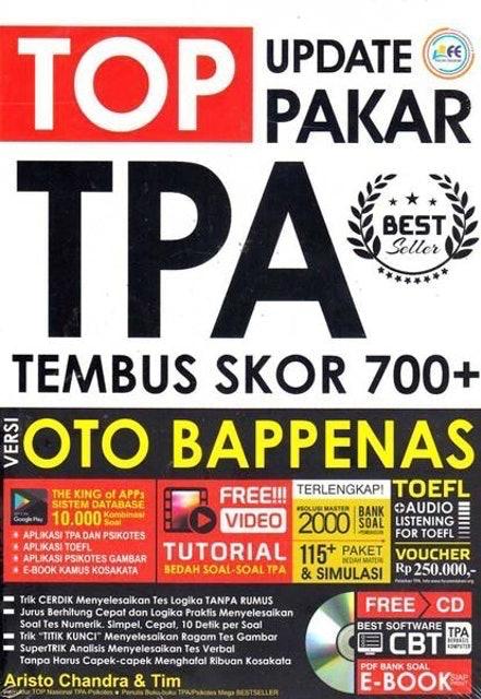 Aristo Chandra & Tim Top Update Pakar TPA Tembus Skor 700+ Versi OTO BAPPENAS 1