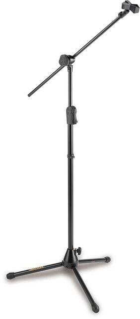 KHS Musical Instruments  HERCULES Ez Clutch Tripod Microphone Stand W/2 in 1 Hideaway Boom 1