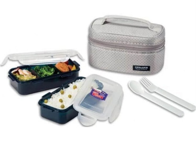 Lock & Lock  Lunch Box 2P Set 1