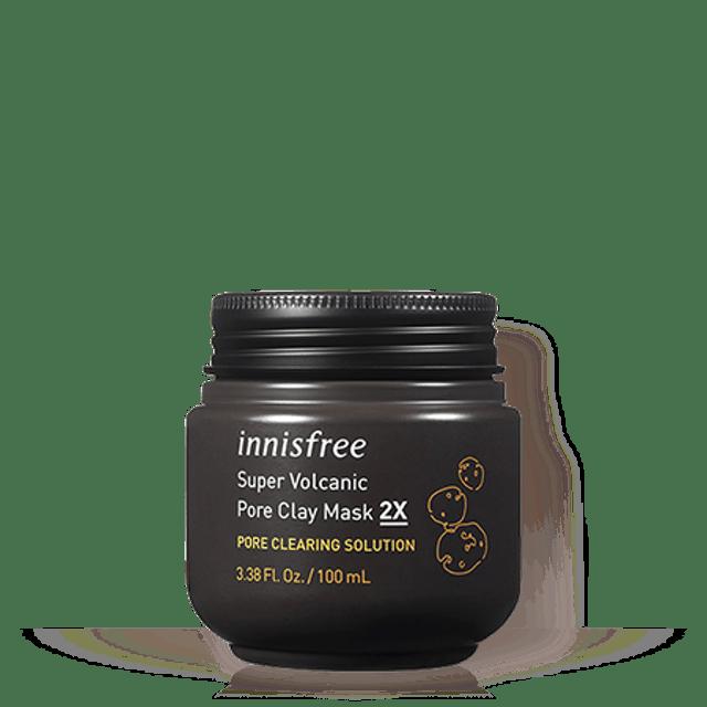 Innisfree Super Volcanic Pore Clay Mask 2X 100ml 1