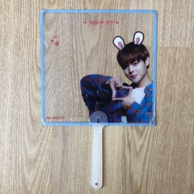 Park Jihoon Transparent Fan 1