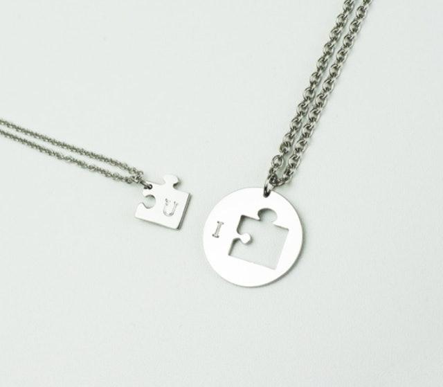 Mirai Jewelry Kalung Round Puzzle 1