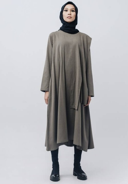 Rashawl Doric Longtop Dark Grey 1