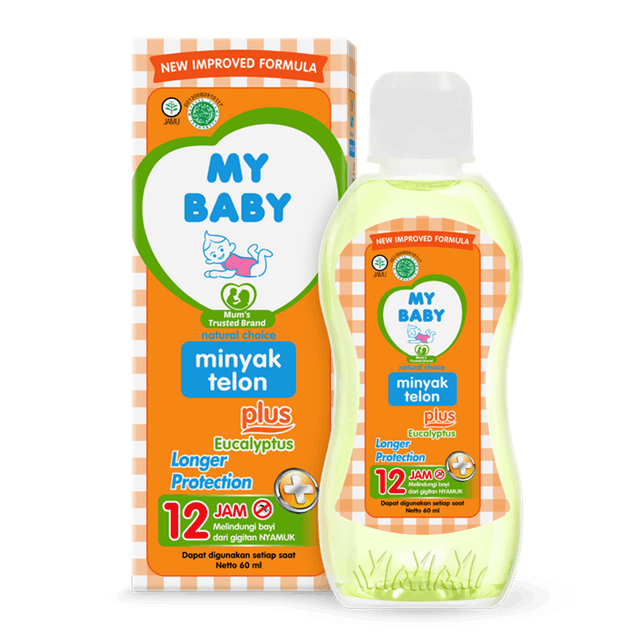 My Baby  Minyak Telon Plus Longer Protection 1