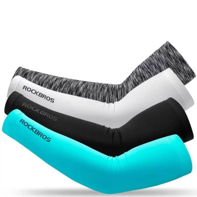 RockBros  Ice Fabric Cycling Arm Sleeves 1