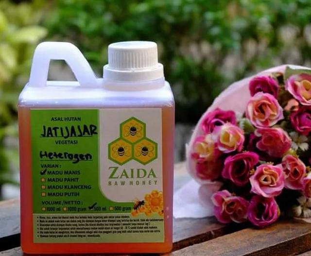 Zaida  Raw Honey Madu (Vegetasi) Buah 1