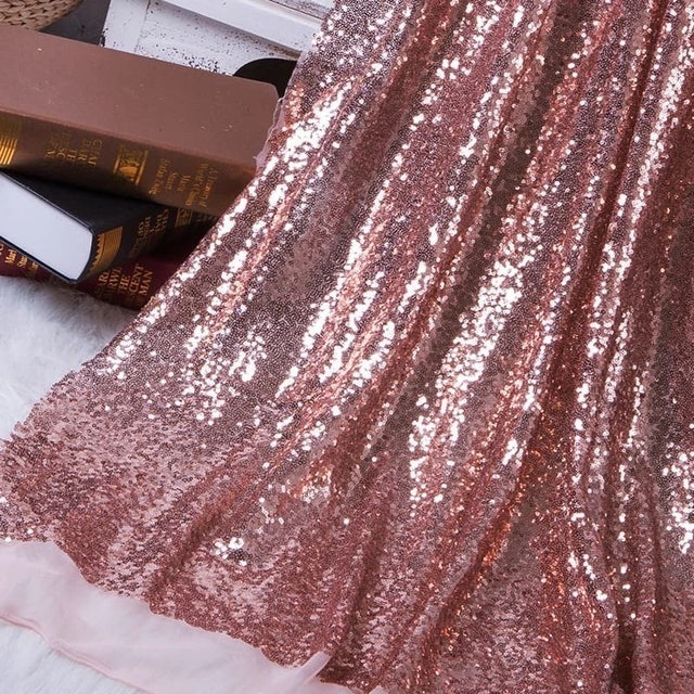 Kain Sequin Rose Gold 1