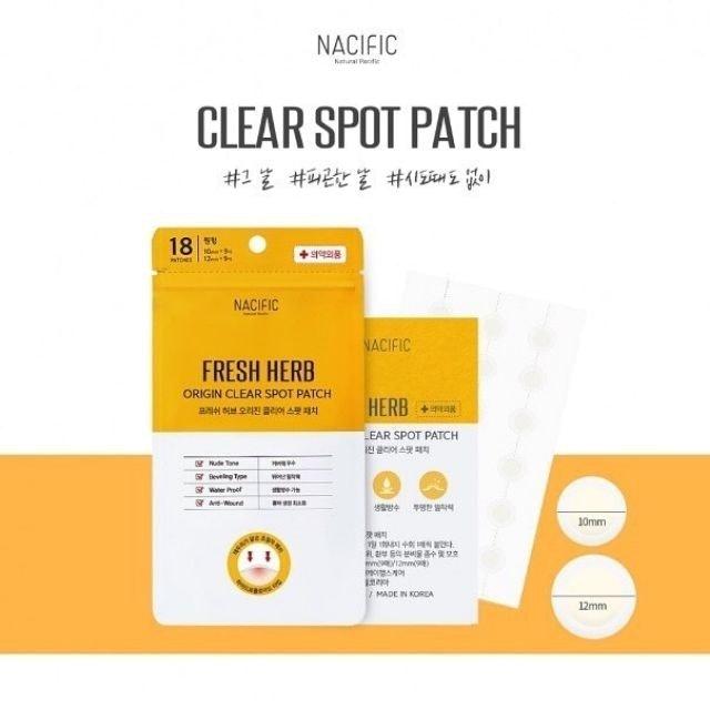 Nacific Fresh Herb Origin Clear Spot Patch 1