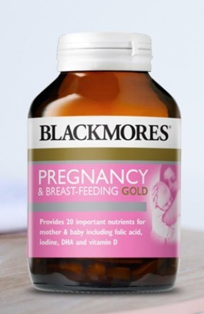Blackmores  Pregnancy & Breast-Feeding Gold 1