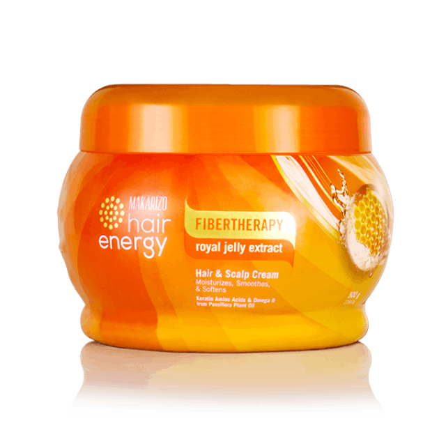 Makarizo Fibertherapy Hair & Scalp Cream with Royal Jelly Extract 1