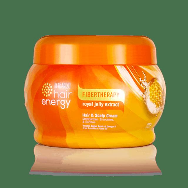 Makarizo Fibertherapy Hair & Scalp Cream with Royal Jelly Extract 1