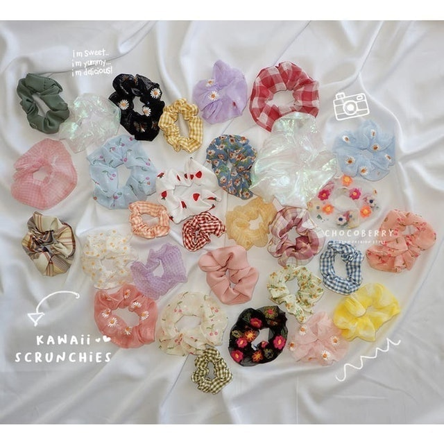 ChocoberryHouse Kawaii Scrunchie 1