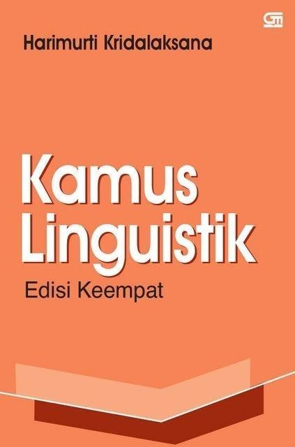 Harimurti Kridalaksana Kamus Linguistik Edisi Keempat 1