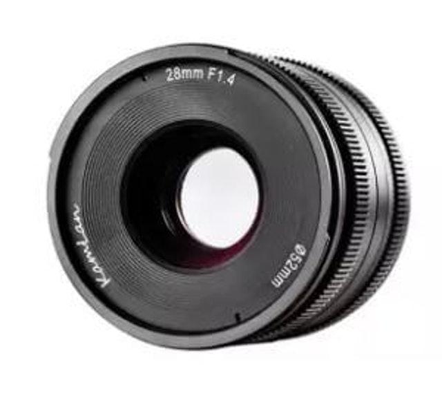 Kamlan  28mm F1.4 1