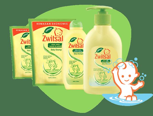 Zwitsal  Baby Shampoo Natural With Aloe Vera Kemiri Seledri 1
