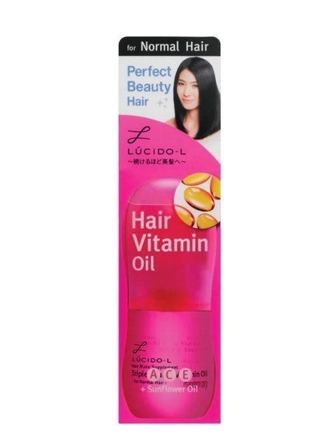 Mandom LUCIDO-L Hair Vitamin Oil For Normal Hair 1