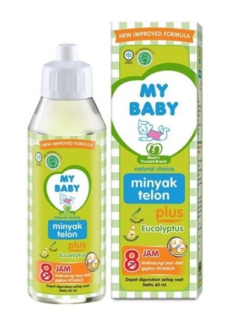 Kalbe My Baby Minyak Telon Plus 1