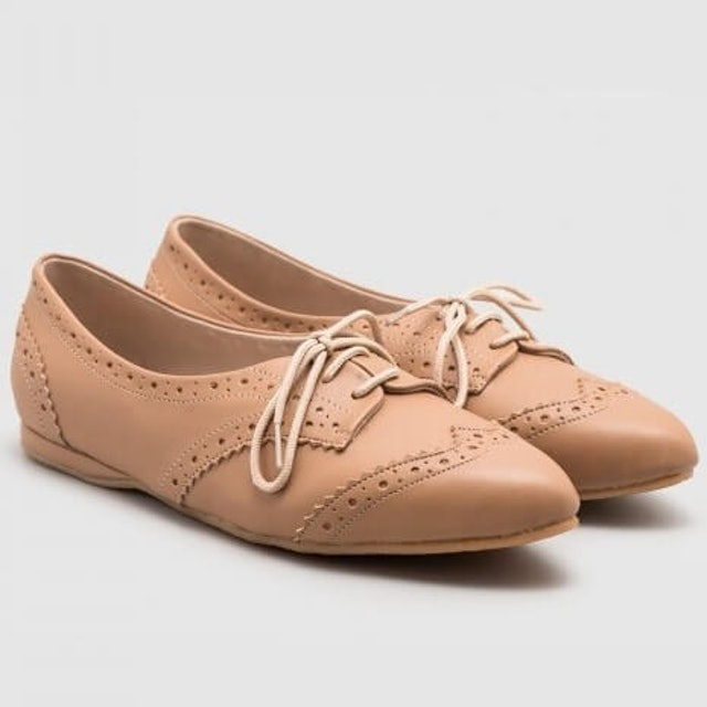 Adorable Projects  Lidea Light Brown Flatshoes 1