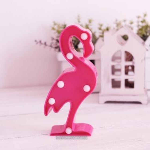 Lampu LED Bentuk Flamingo 1