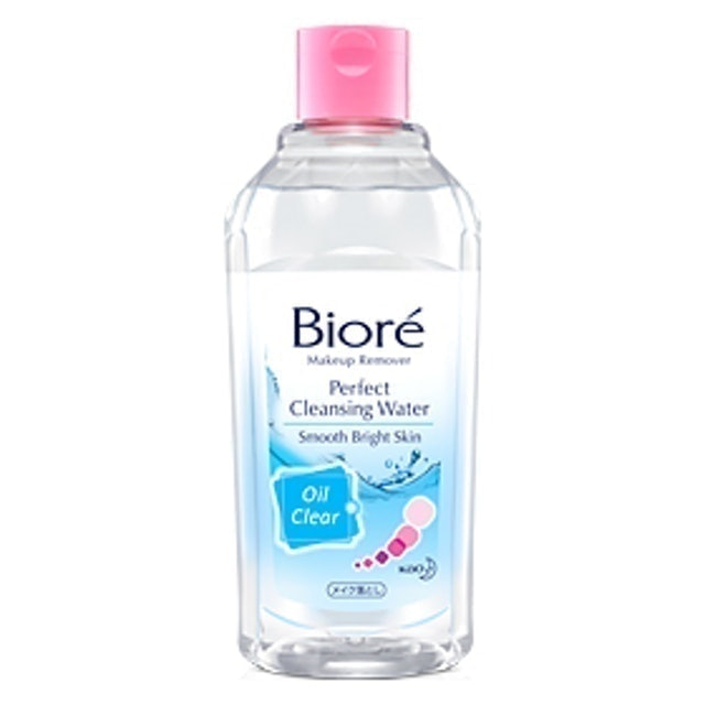 Kao Biore Makeup Remover Perfect Cleansing Water Oil Clear 1