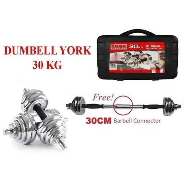York Fitness York Dumbell Set 30 kg  1
