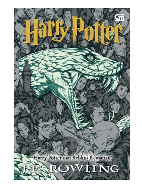 J.K. Rowling Harry Potter dan Relikui Kematian (Harry Potter and the Deathly Hallows) - Cover Baru 1