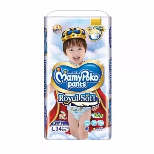 Unicharm  MamyPoko Pants Royal Soft  1