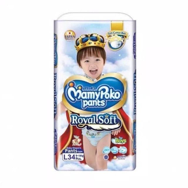 Unicharm  MamyPoko Pants Royal Soft  1