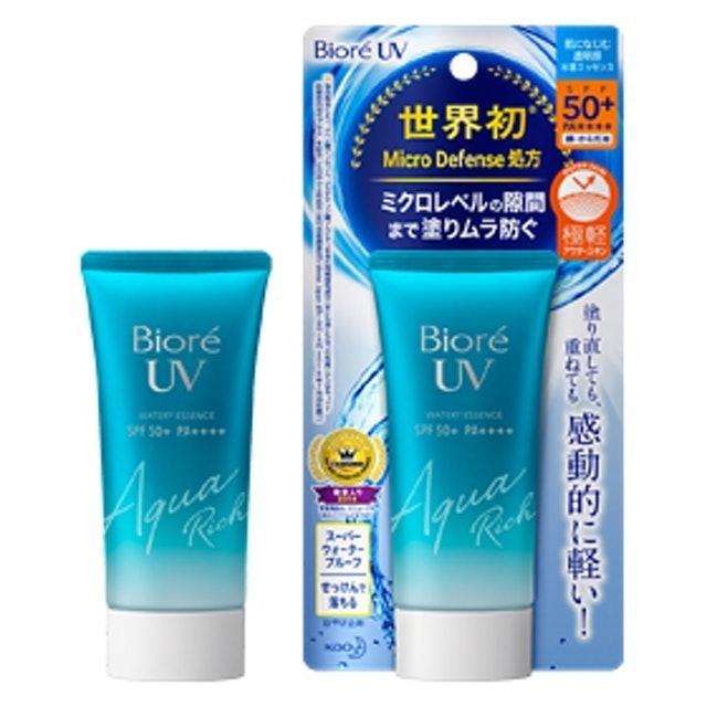 Kao Biore UV Aqua Rich Watery Essence SPF 50+/PA++++ 1