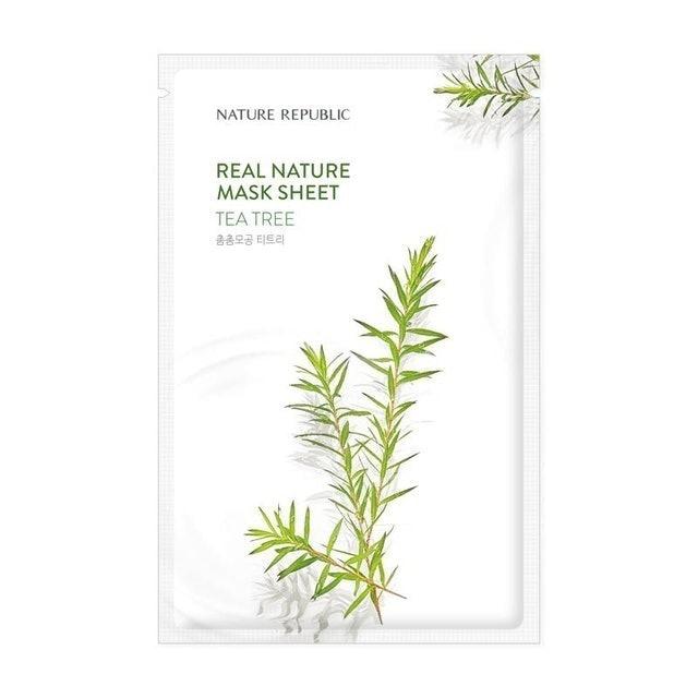 Nature Republic  Real Nature Tea Tree Mask Sheet 1