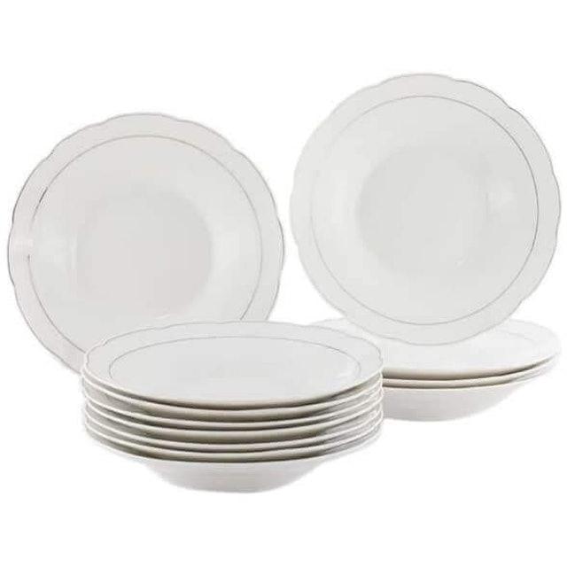 Sango  Piring Makan Keramik 9 Inci 1