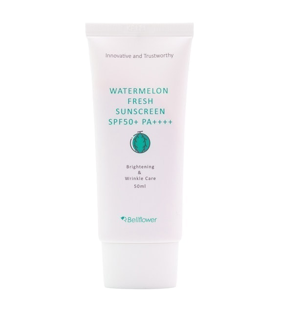 Bellflower  Watermelon Fresh Sunscreen SPF50+/PA++++  1