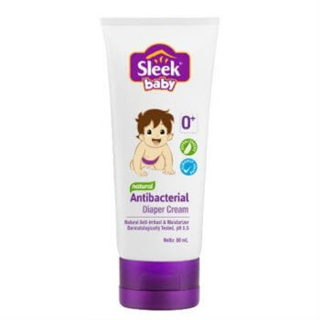 Kino  Sleek Baby Natural Antibacterial Diaper Cream 1
