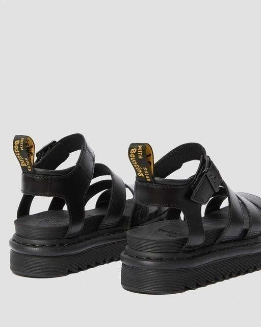 AirWair Dr. Martens Blaire Women's Brando Leather Gladiator Sandals 3